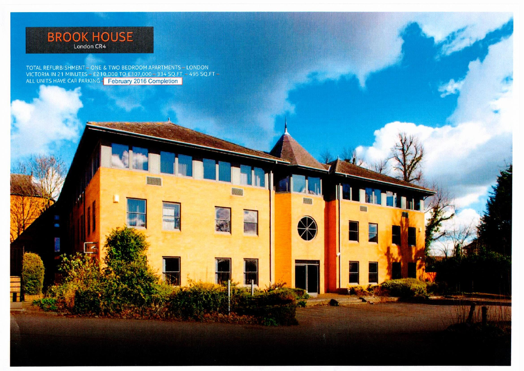 1 Bedroom Flat for sale in Brook House, Cricket Green CR4