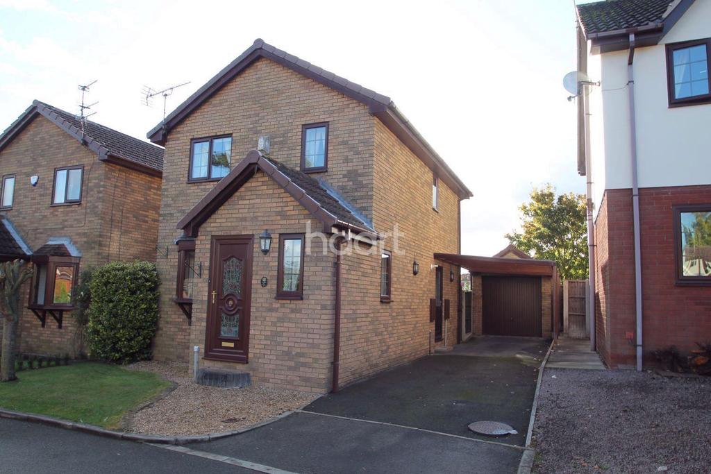 3 Bedrooms Detached House for sale in Verger Close, Rossington