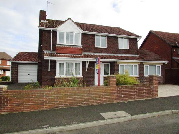 4 Bedrooms Detached House for sale in PARKLANDS COURT, SEAHAM, SEAHAM DISTRICT
