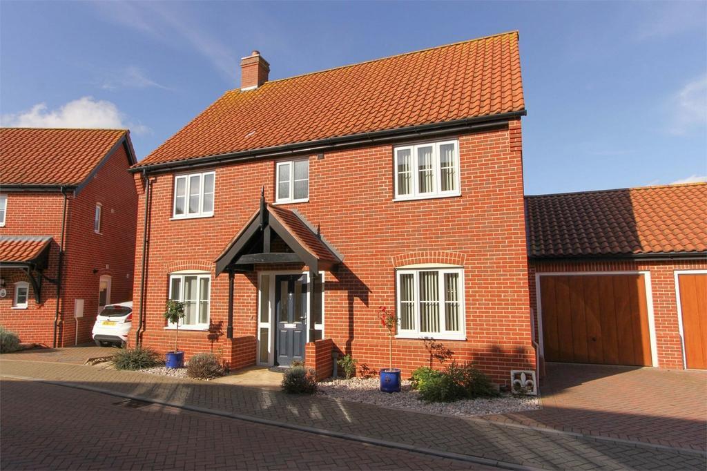 4 Bedrooms Detached House for sale in Copsey Walk, Dereham, Norfolk