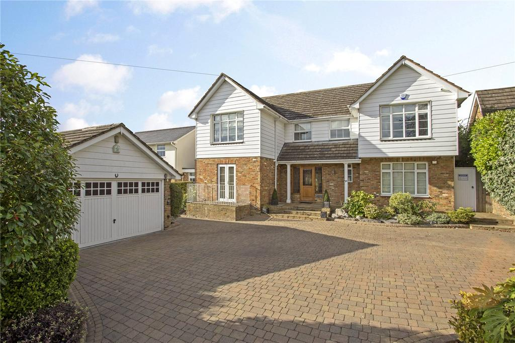 4 Bedrooms Detached House for sale in Hill Road, Theydon Bois, Epping, Essex, CM16