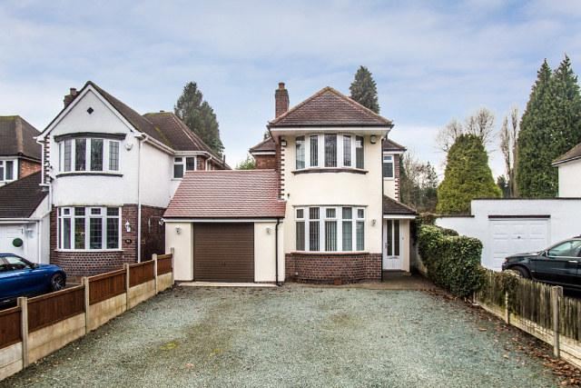 4 Bedrooms Detached House for sale in Chester Road North,Sutton Coldfield,West Midlands