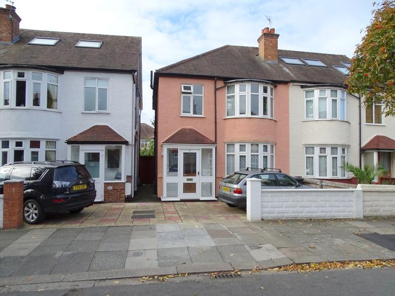 3 Bedrooms Semi Detached House for sale in Cantley Road, Hanwell