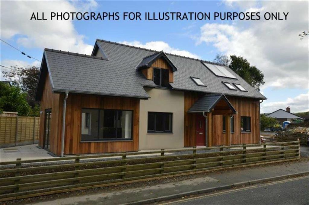 4 Bedrooms Detached Bungalow for sale in Plot B, Woodlands, Forge Road, Machynlleth, SY20