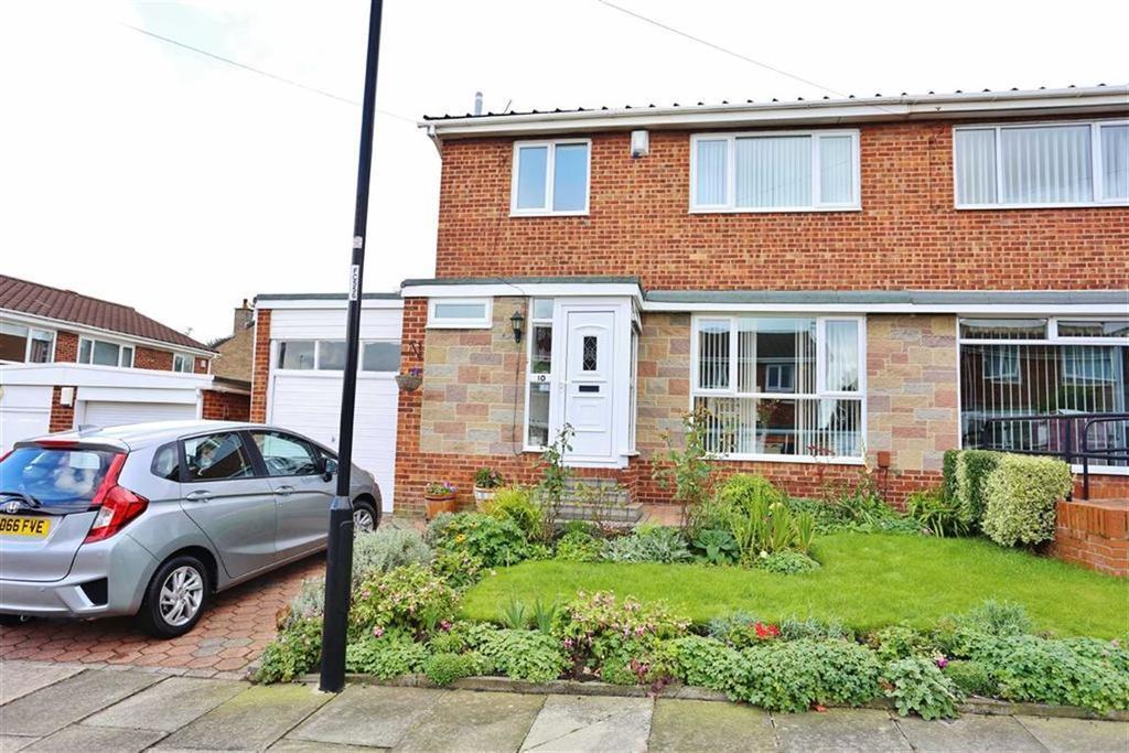 3 Bedrooms Semi Detached House for sale in Butsfield Gardens, Elstob Farm, Sunderland, SR3