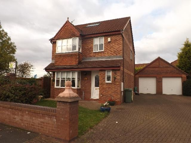 4 Bedrooms Detached House for sale in Swan Gardens, St. Helens