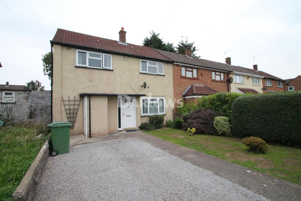3 Bedrooms End Of Terrace House for sale in Thackery Crescent, Llanrumney, Cardiff