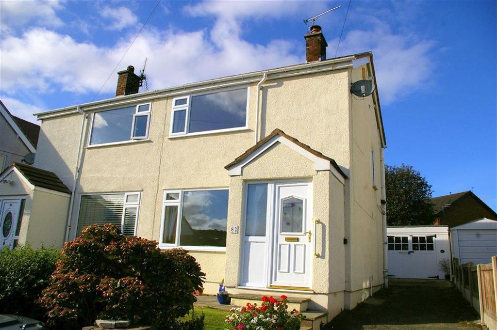 2 Bedrooms Semi Detached House for sale in Llanrhos Road, Penrhyn Bay, Llandudno