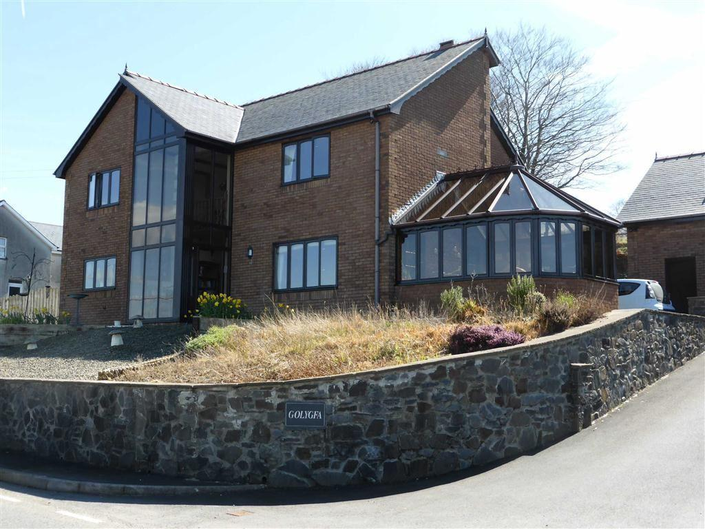 4 Bedrooms Detached House for sale in Golygfa, Pisgah, Aberystwyth, Ceredigion, SY23
