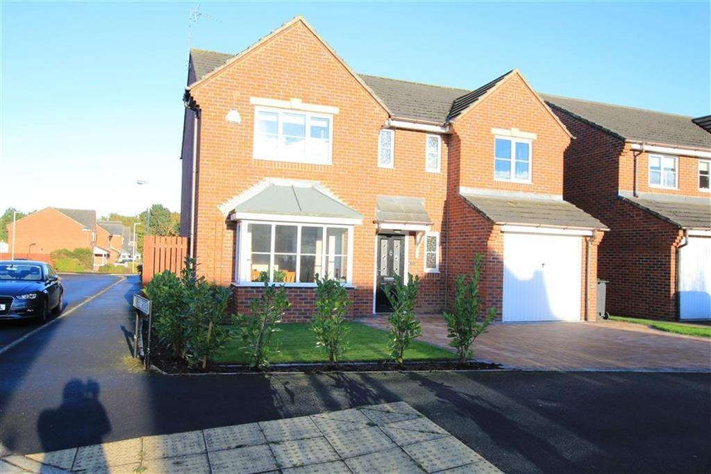 4 Bedrooms Detached House for sale in Hawthorn Drive, School Aycliffe, County Durham