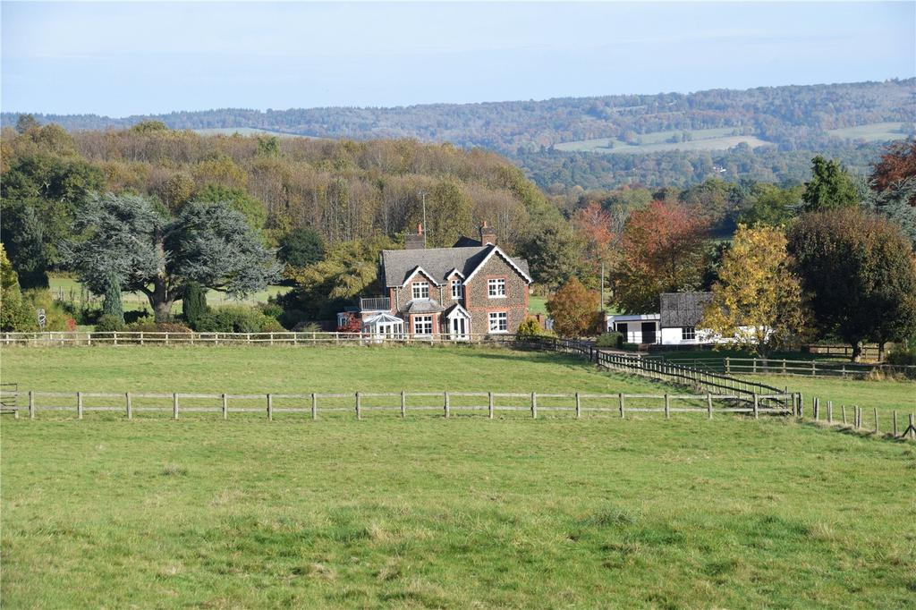 5 Bedrooms Equestrian Facility Character Property for sale in Farley Heath, Albury, Guildford, Surrey, GU5