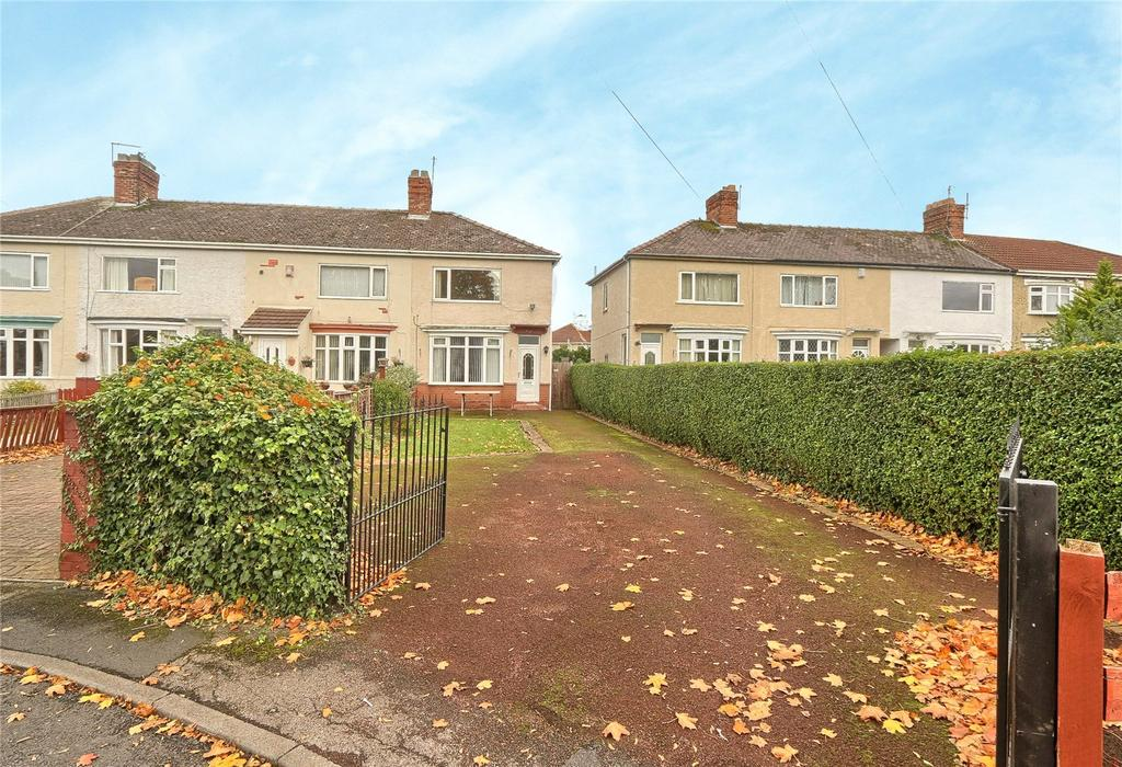 2 Bedrooms End Of Terrace House for sale in Windsor Oval, Thornaby