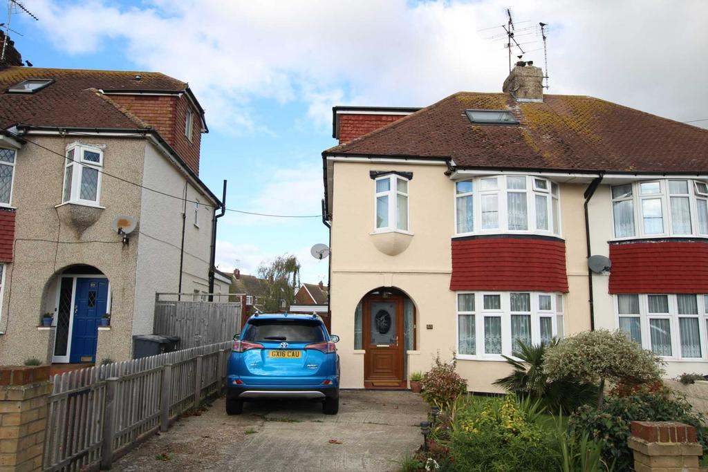 4 Bedrooms Semi Detached House for sale in Broad Road, Willingdon, BN20 7QT