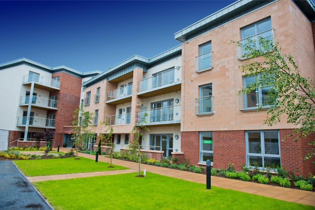 1 Bedroom Retirement Property for sale in Stewarton Road, Newton Mearns, Glasgow, G77 6ZD