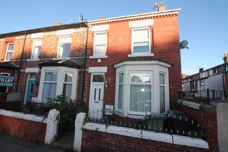3 Bedrooms Terraced House for sale in Park Road, Tranmere
