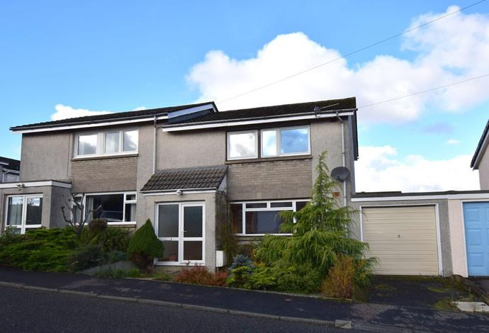 3 Bedrooms Semi Detached House for sale in 31 Ladylands Terrace, Selkirk, TD7 4BB