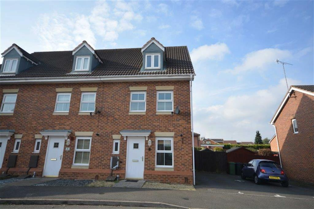 3 Bedrooms End Of Terrace House for sale in Brick Kiln Way, Bedworth