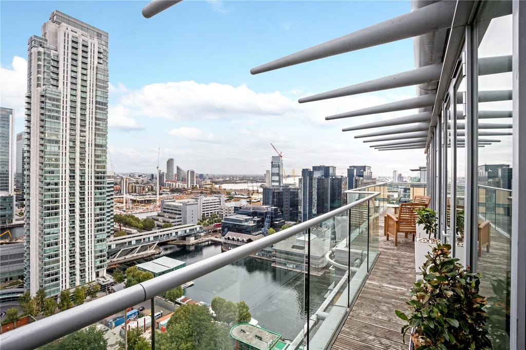 1 Bedroom Penthouse Flat for sale in Ability Place, 37 Millharbour, Canary Wharf, London, E14