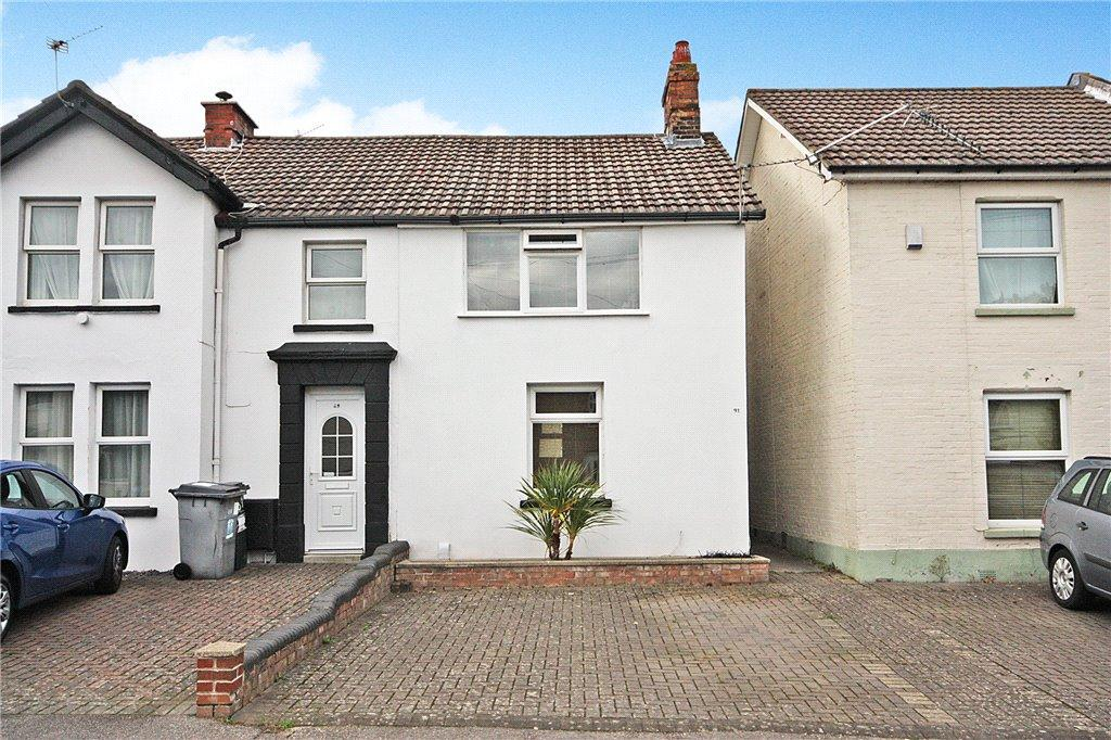 2 Bedrooms End Of Terrace House for sale in Windham Road, Bournemouth, Dorset, BH1