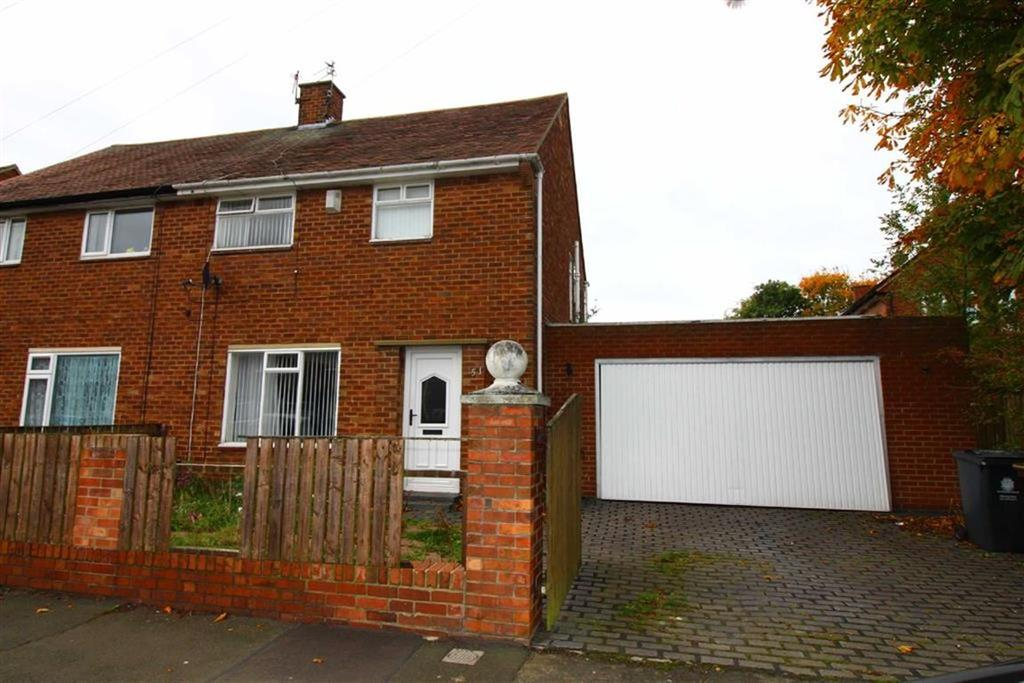 3 Bedrooms Semi Detached House for sale in Morwick Road, North Shields