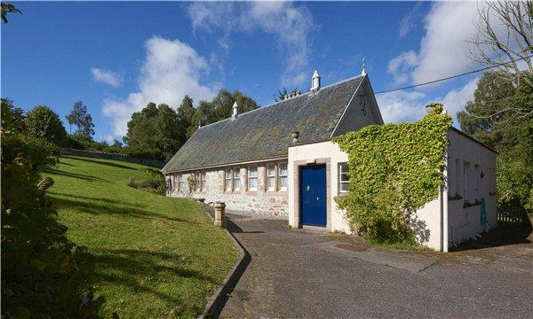 6 Bedrooms Detached House for sale in The Old Schoolhouse, Knockbain, Kirkhill, Inverness, IV5
