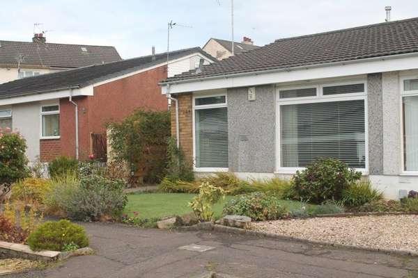 2 Bedrooms Semi Detached Bungalow for sale in 26 Inverkar Drive, Paisley, PA2 9HG