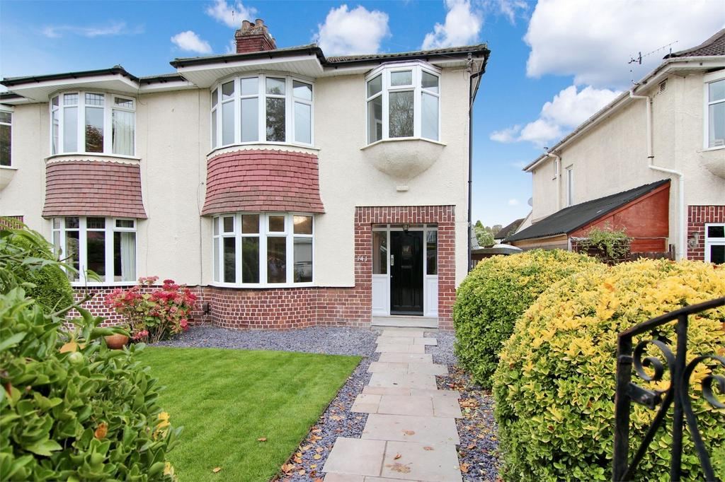 3 Bedrooms Semi Detached House for sale in Falcondale Road, Westbury-on-Trym, Bristol