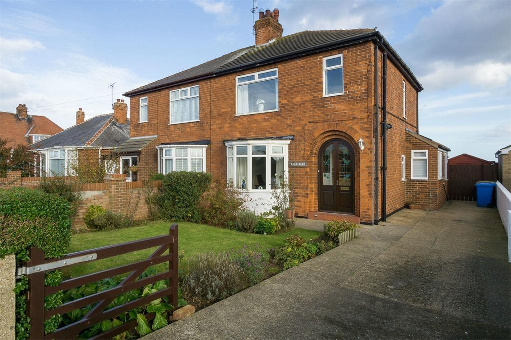 3 Bedrooms Semi Detached House for sale in Withernsea Road, Hollym, East Riding of Yorkshire