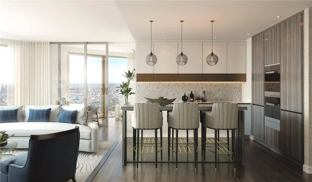1 Bedroom Apartment Flat for sale in Spire London, Hertsmere Road, E14
