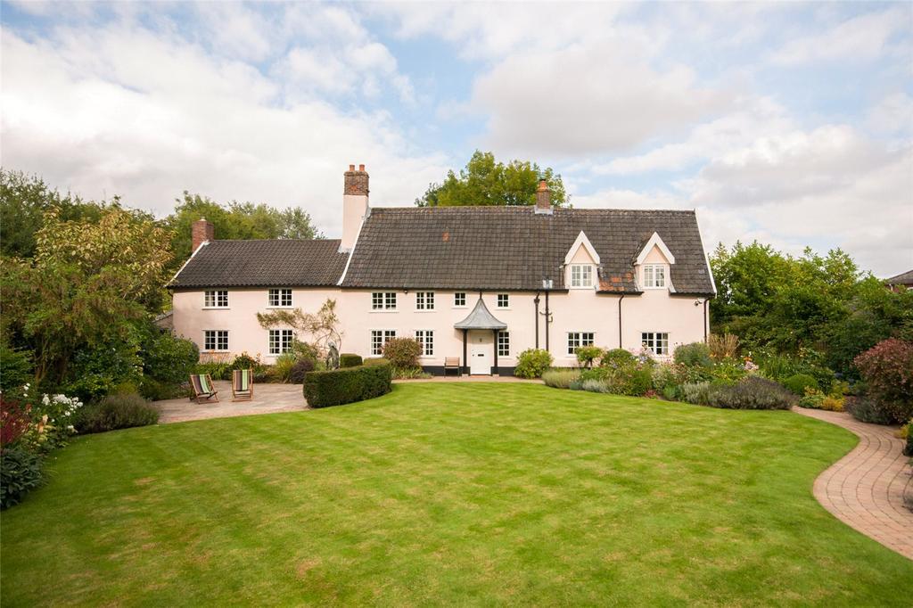 4 Bedrooms Detached House for sale in Low Road, Alburgh, Harleston, Norfolk, IP20