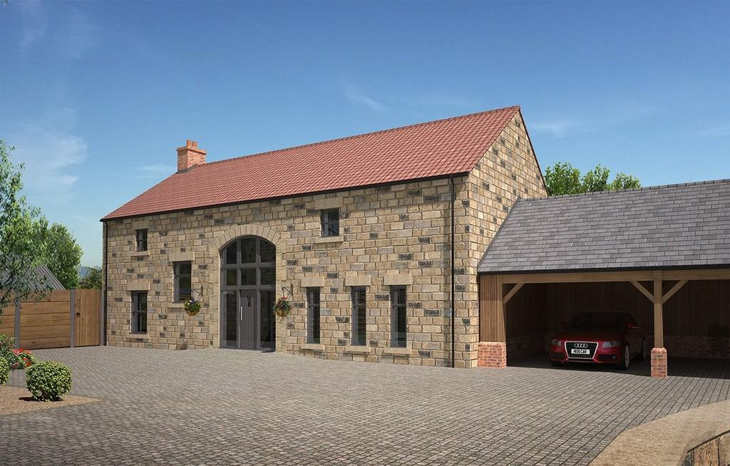 4 Bedrooms Link Detached House for sale in Fountains Abbey Road, Bishop Thornton, Harrogate