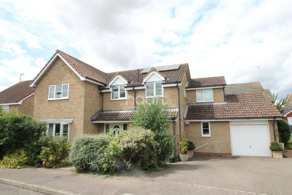 5 Bedrooms Detached House for sale in Plummer Close, Ixworth