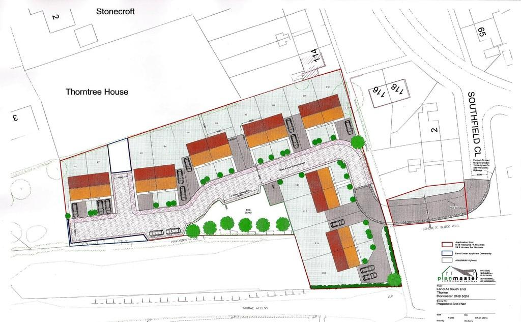 Land Commercial for sale in Southfield Close, Thorne, Doncaster