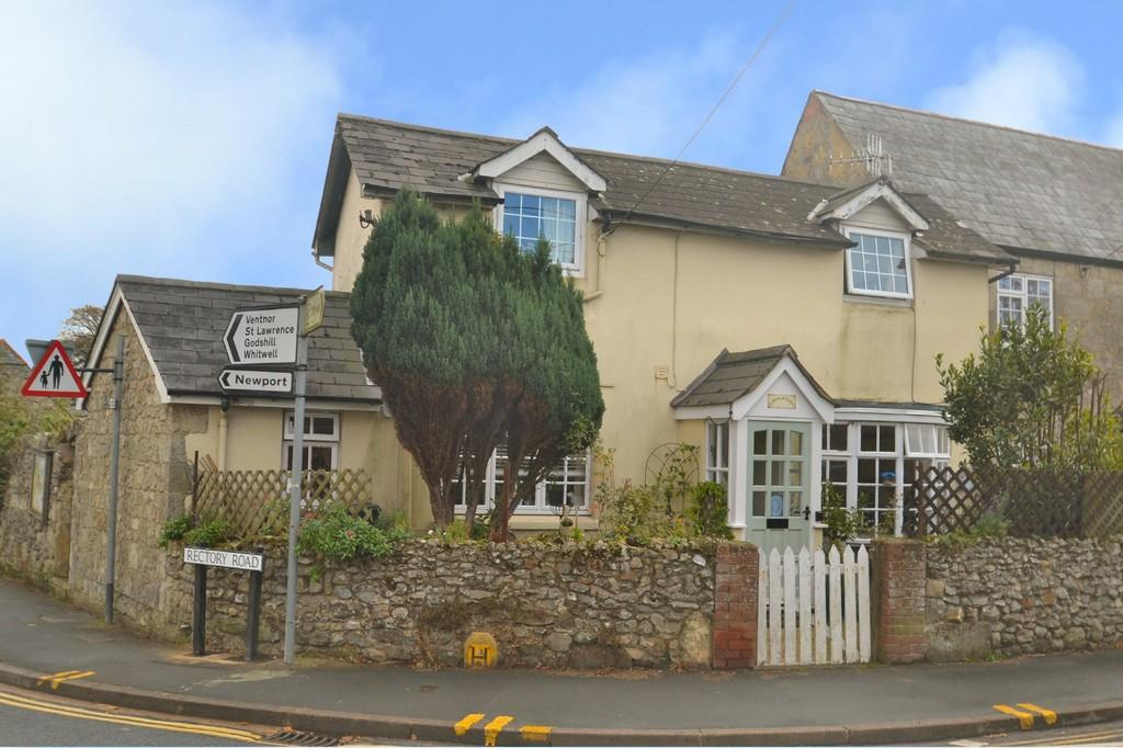 2 Bedrooms End Of Terrace House for sale in High Street, Niton
