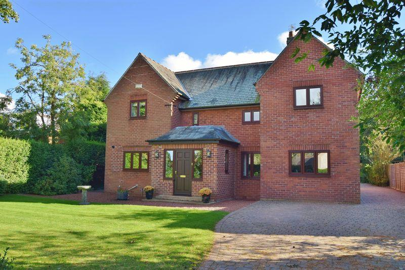 4 Bedrooms Detached House for sale in Edge Hill, Darras Hall, Ponteland, Newcastle upon Tyne