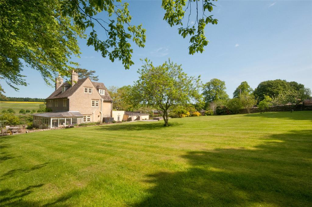 7 Bedrooms Detached House for sale in Coln St. Dennis, Nr Northleach, Gloucestershire, GL54