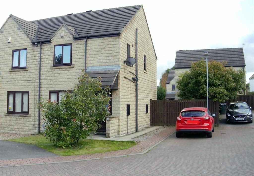 3 Bedrooms Semi Detached House for sale in Flaxen Court, Wibsey Bank, Bradford, BD6 1AW