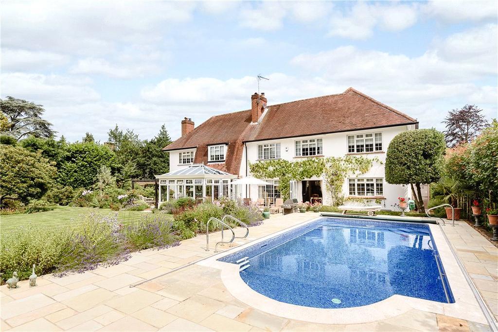 5 Bedrooms Detached House for sale in Sandy Way, Cobham, Surrey, KT11