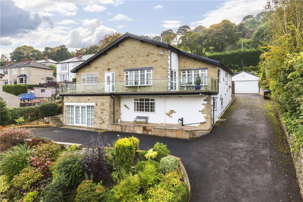 4 Bedrooms Detached House for sale in White Lodge, Skipton Road, Keighley, West Yorkshire