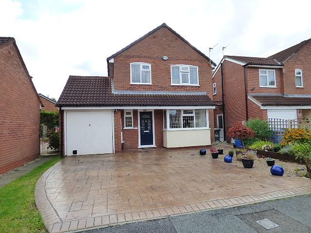 4 Bedrooms Detached House for sale in Rockingham Close, Gorse Covert, Warrington