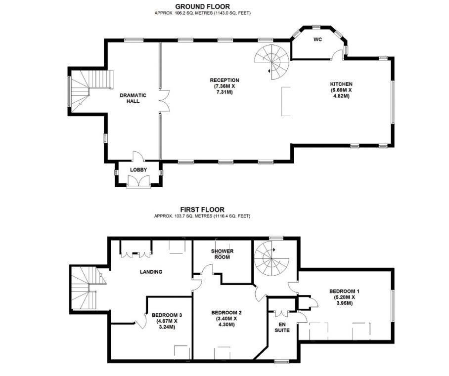 Floorplan: Old Church House Floorplan