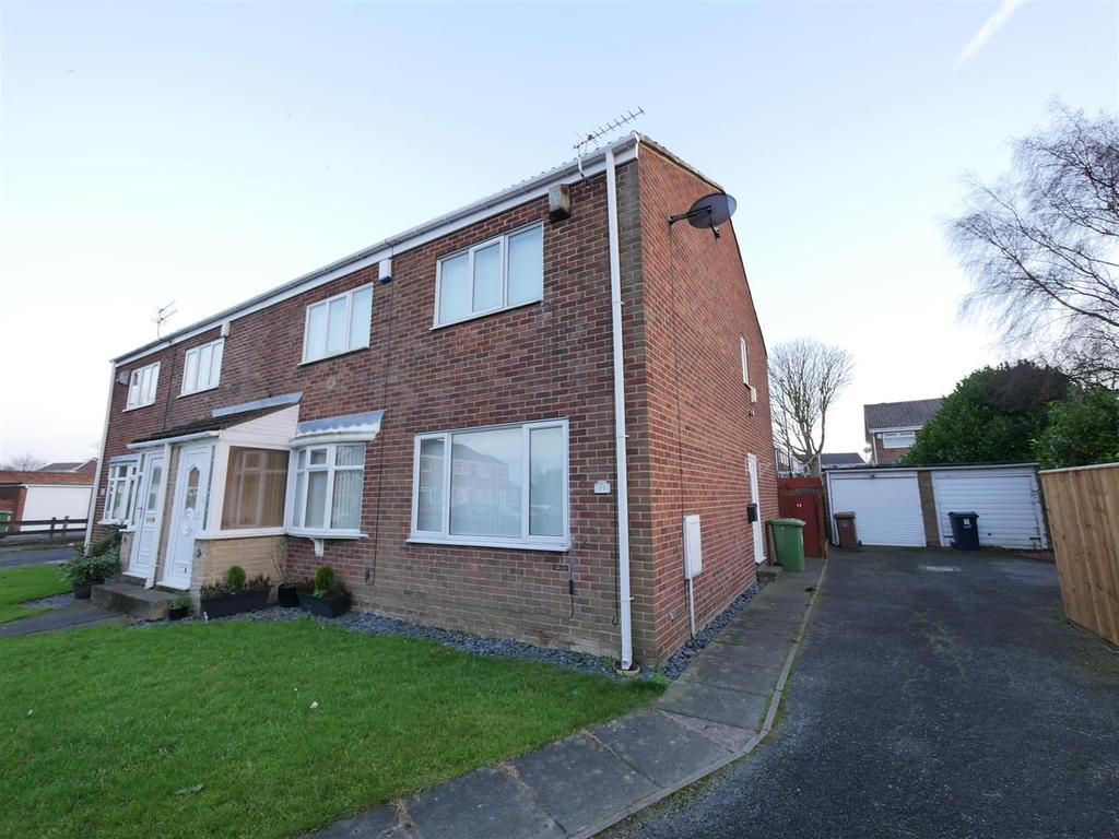 2 Bedrooms End Of Terrace House for sale in Ainthorpe Close, Tunstall, Sunderland