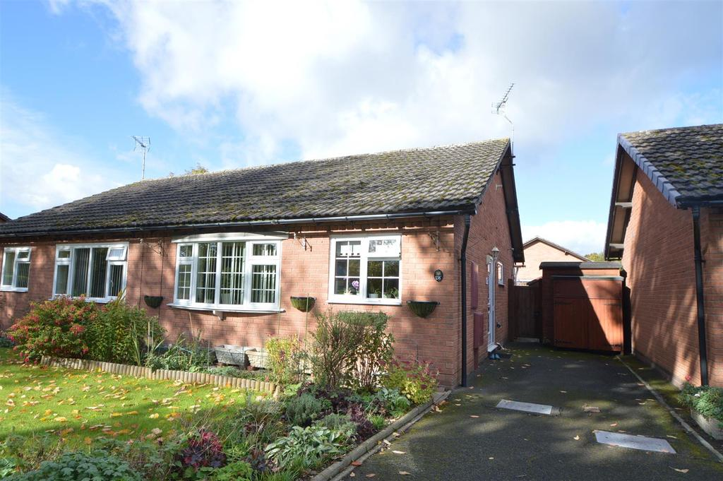 2 Bedrooms Semi Detached Bungalow for sale in 138 Gains Avenue, Bicton Heath, Shrewsbury, SY3 5BA