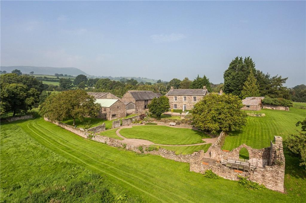 6 Bedrooms Farm House Character Property for sale in Llanvetherine, Abergavenny, Monmouthshire, NP7
