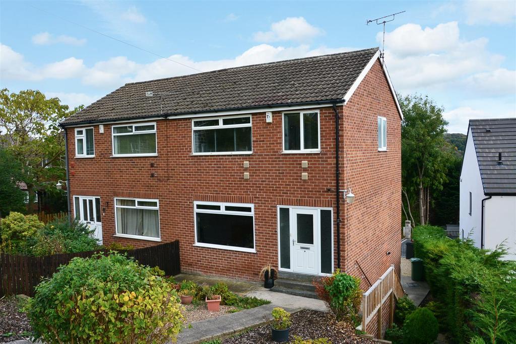 4 Bedrooms Semi Detached House for sale in Woodland Croft, Off Bachelor Lane, Horsforth