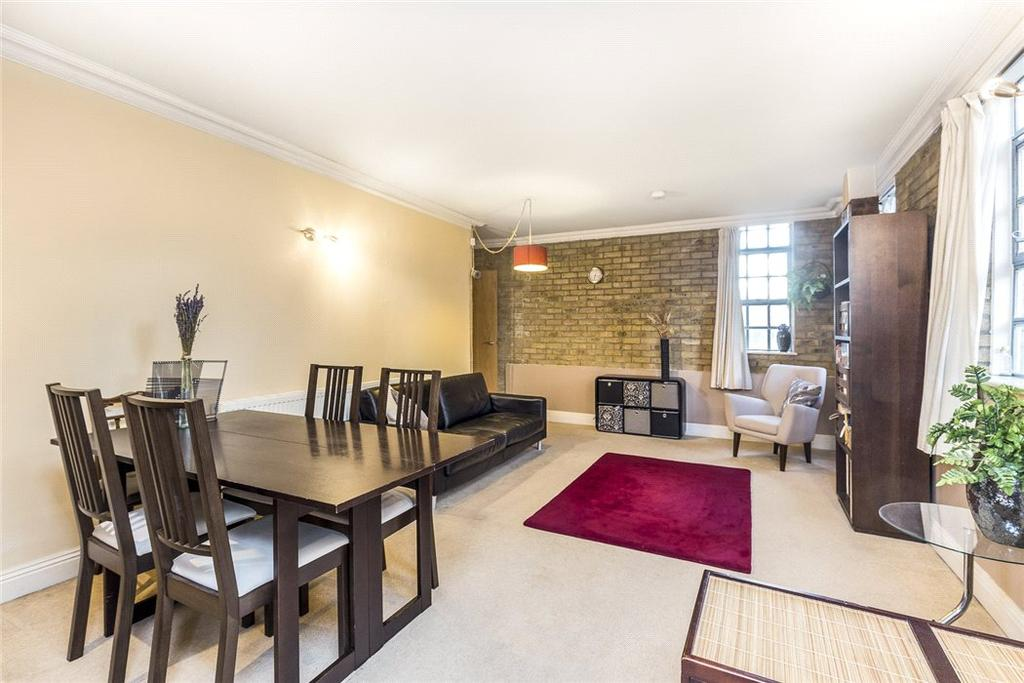 2 Bedrooms Flat for sale in Riviera Court, 122 St Katharines Way, Wapping, London, E1W