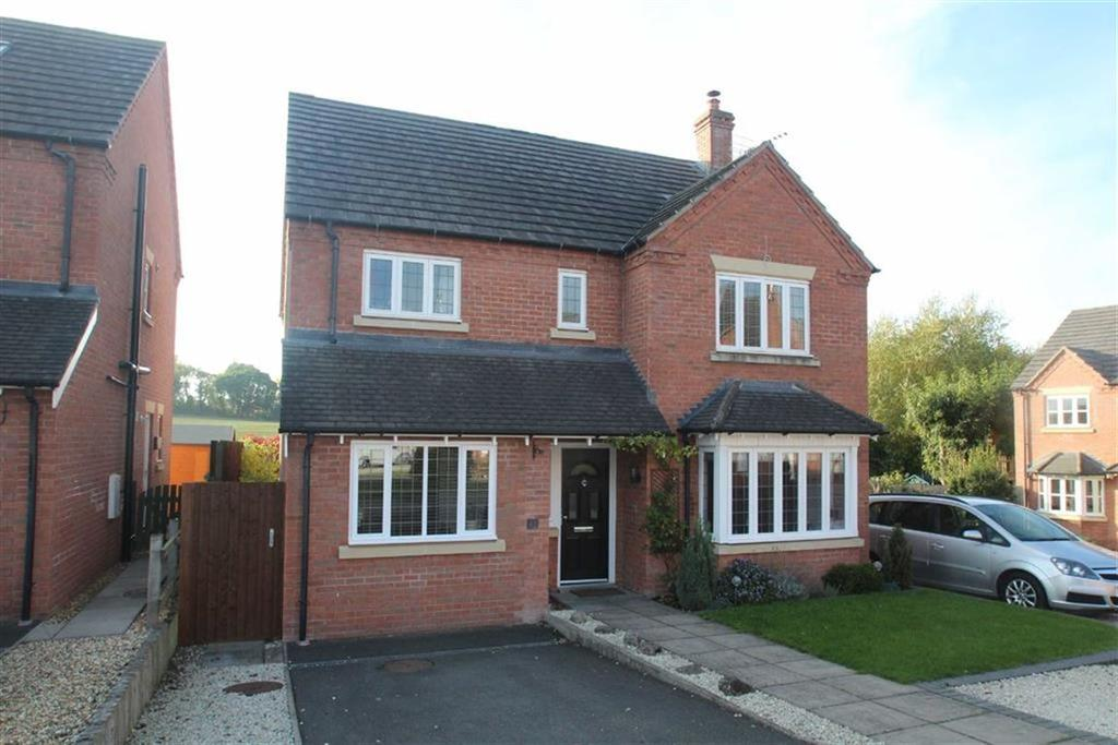 4 Bedrooms Detached House for sale in Willow Park, Minsterley, Shrewsbury