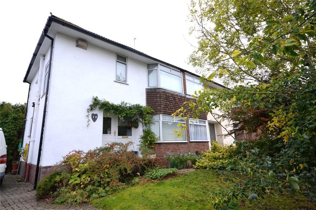 3 Bedrooms Semi Detached House for sale in Blackoak Road, Cyncoed, Cardiff, CF23