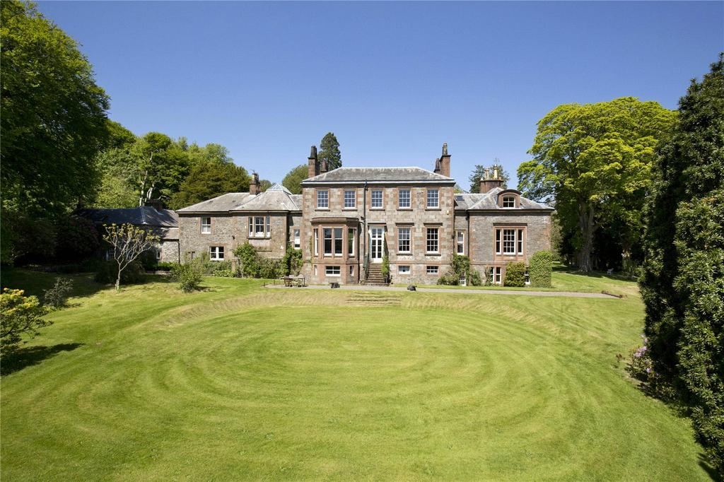 6 Bedrooms Detached House for sale in Spottes House, Haugh Of Urr, Castle Douglas, Kirkcudbrightshire, DG7