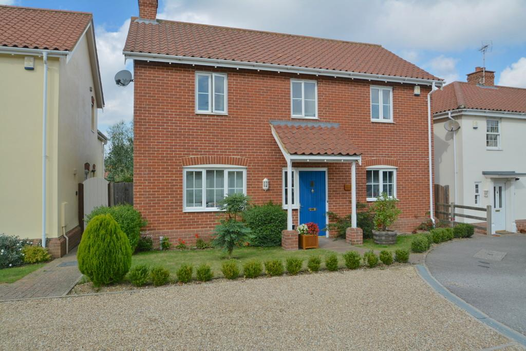 4 Bedrooms Detached House for sale in Culcott Close,Yoxford
